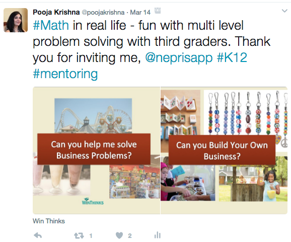 Virtual Classroom Mentoring for K12